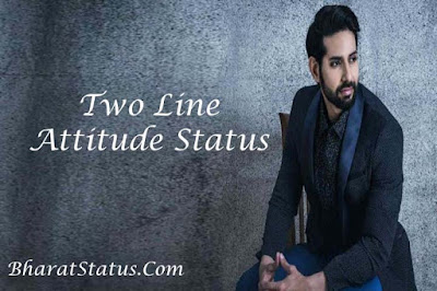 Two line attitude Status in hindi