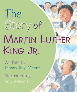 The Artist Librarian reviews The Story of Martin Luther King Jr. by Johnny Ray Moore
