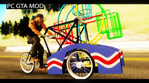 Free Download Odong-odong Mod for GTA San Andreas.
