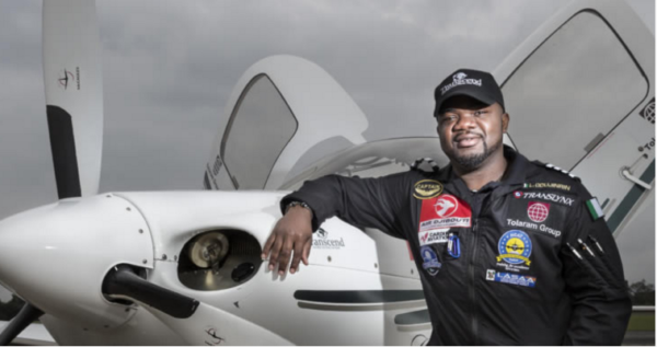Meet Ademilola Odujinrin, the first African to fly solo around the World
