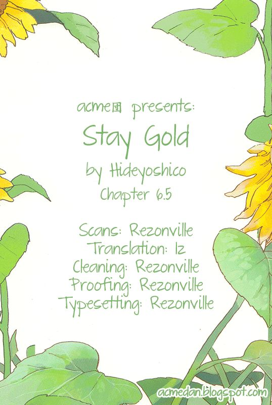 Stay Gold - Chapter 11
