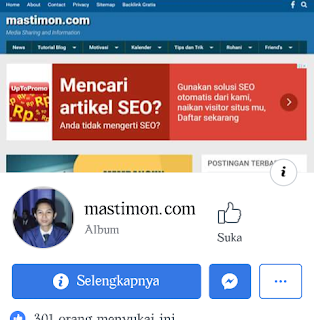 Fanspage Facebook Mastimon.com