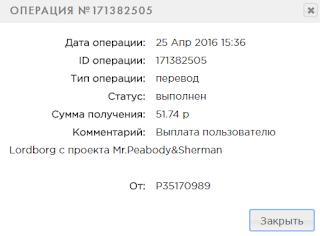 mr-peabody.com отзывы