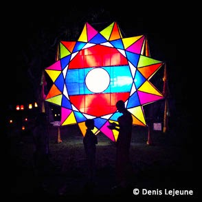 Large lao lantern - from Lao Confidential by Denis Lejeune