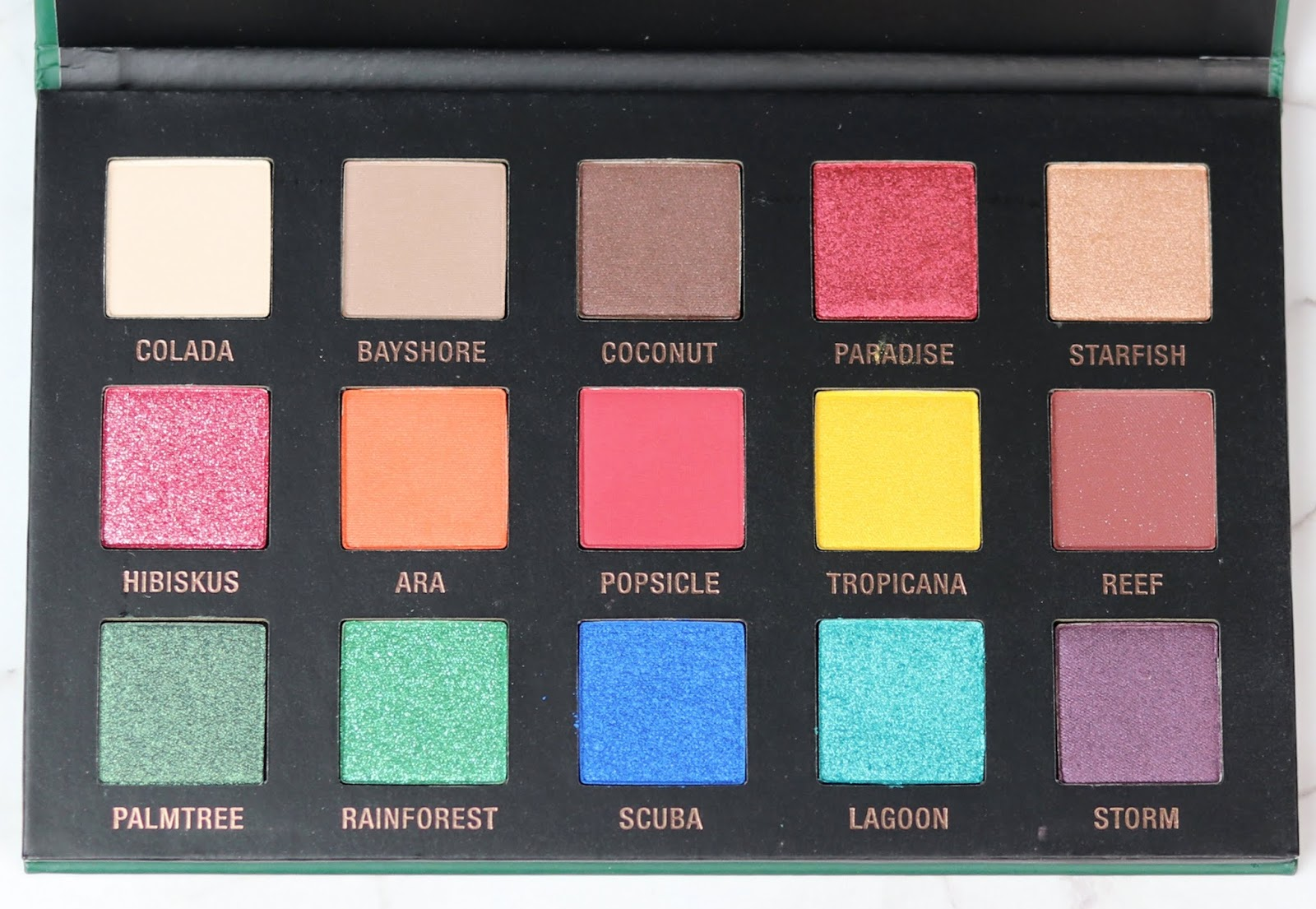 amu, beauty blogger hamburg, buntes make-up, drogerie, Eyeshadow Palette, L.O.V Lidschattenpalette EYEvotion extended PARADISE edition, lidschatten, review, sommer look, swatches, tragebilder,
