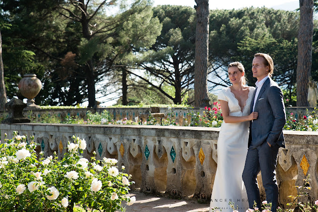 Wedding in Villa Cimbrone gardens