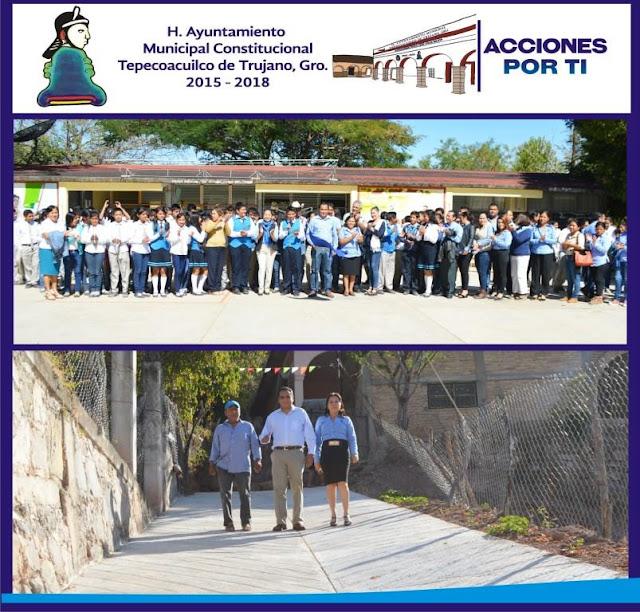 Más obras de impacto social en Tepecoacuilco