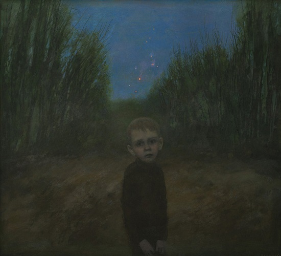 "arte contemporáneo, pintura, ""Firework is Over"" by Igor Melnikov, 2011."