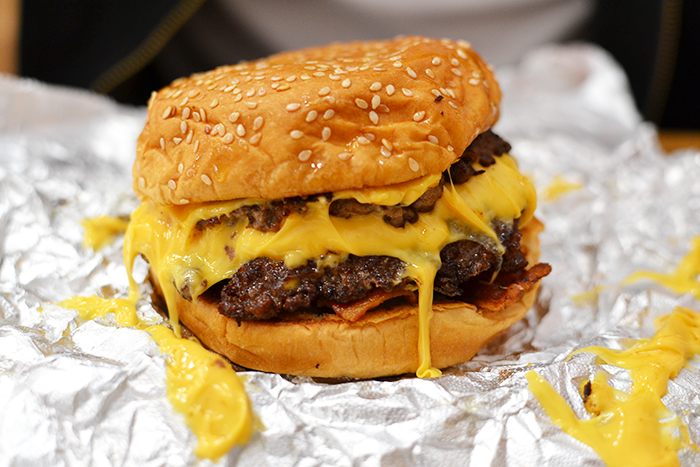 The Glasgow Burgerthon - Five Guys | Wasted Little PJ Scottish Male Lifestyle Blog
