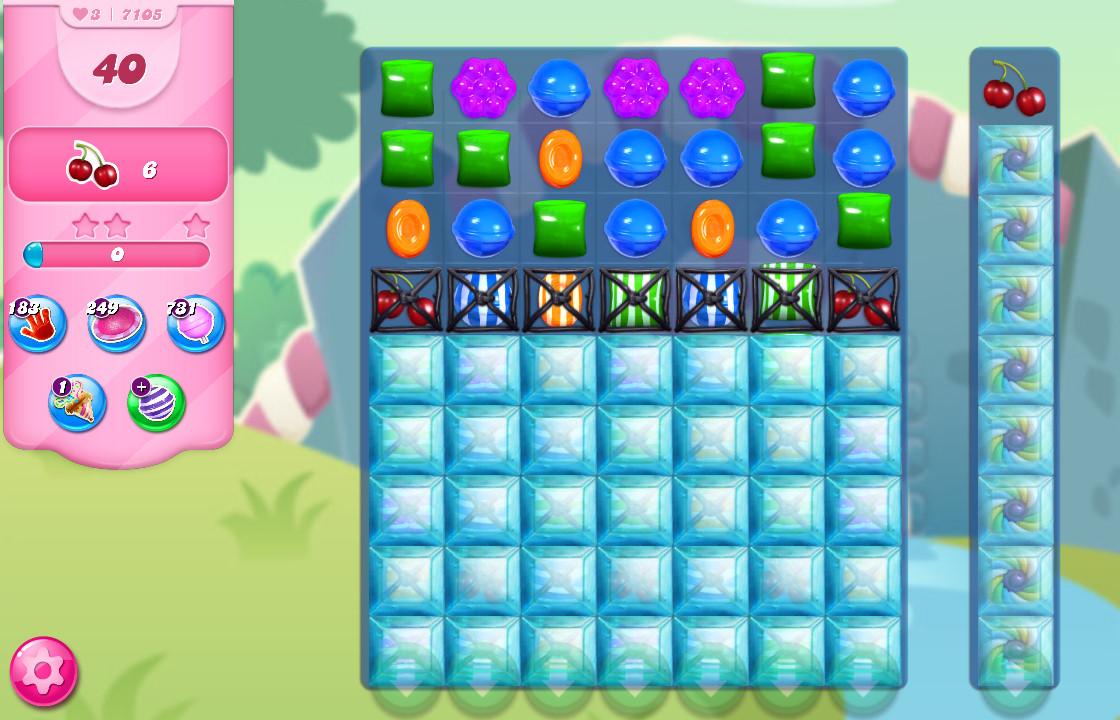 Candy Crush Saga level 7105