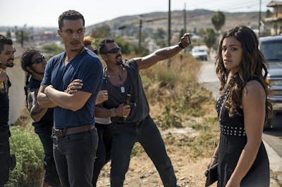 Miss Bala 2019 movie still Gina Rodriguez Ismael Cruz Cordova