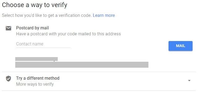 Langkah Verifikasi Google Bisnisku