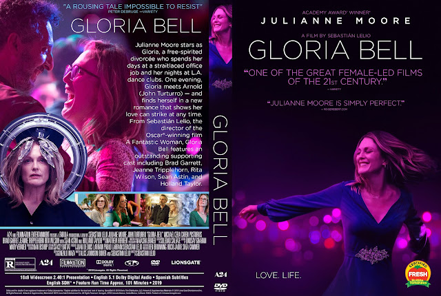 Gloria Bell DVD Cover