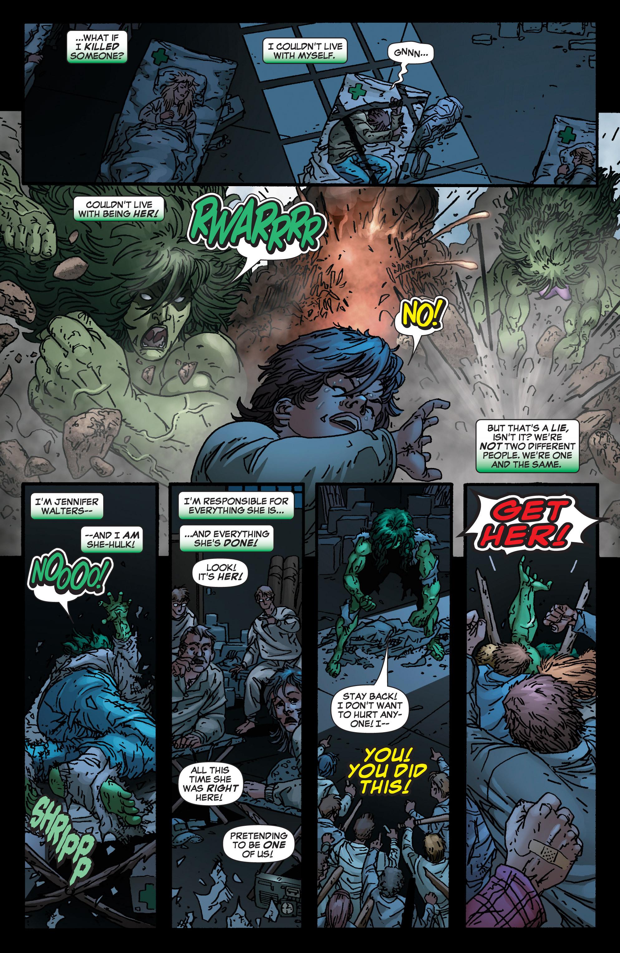 Read online She-Hulk (2005) comic -  Issue #4 - 10