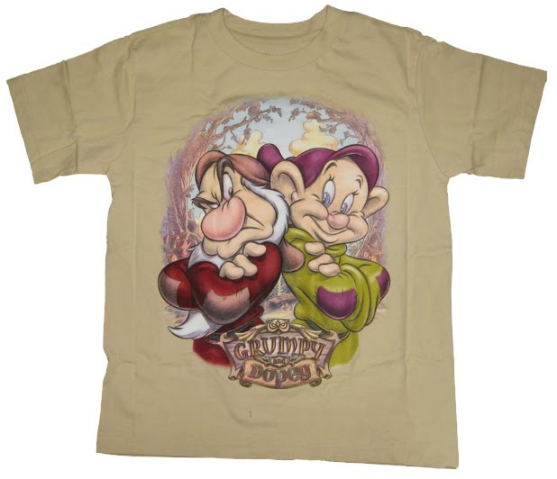 Filmic Light - Snow White Archive: Dopey Tees And Tops ...
