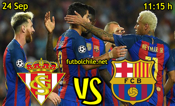 Ver stream hd youtube facebook movil android ios iphone table ipad windows mac linux resultado en vivo, online: Sporting Gijón vs Barcelona