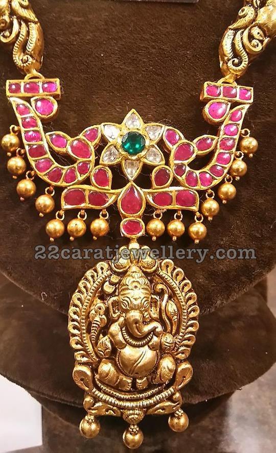 Two Step Ganesh Pendant