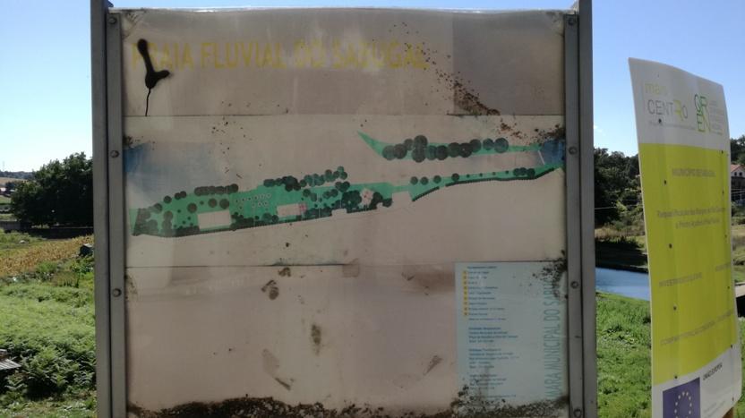 Imagem da Zona Fluvial da Devesa