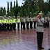 Dalam Rangka HUT Bhayangkara Ke-72, Kapolres Tanah Laut Pimpin Apel Ziarah Rombongan Di TMP Tuntung Pandang Pelaihari