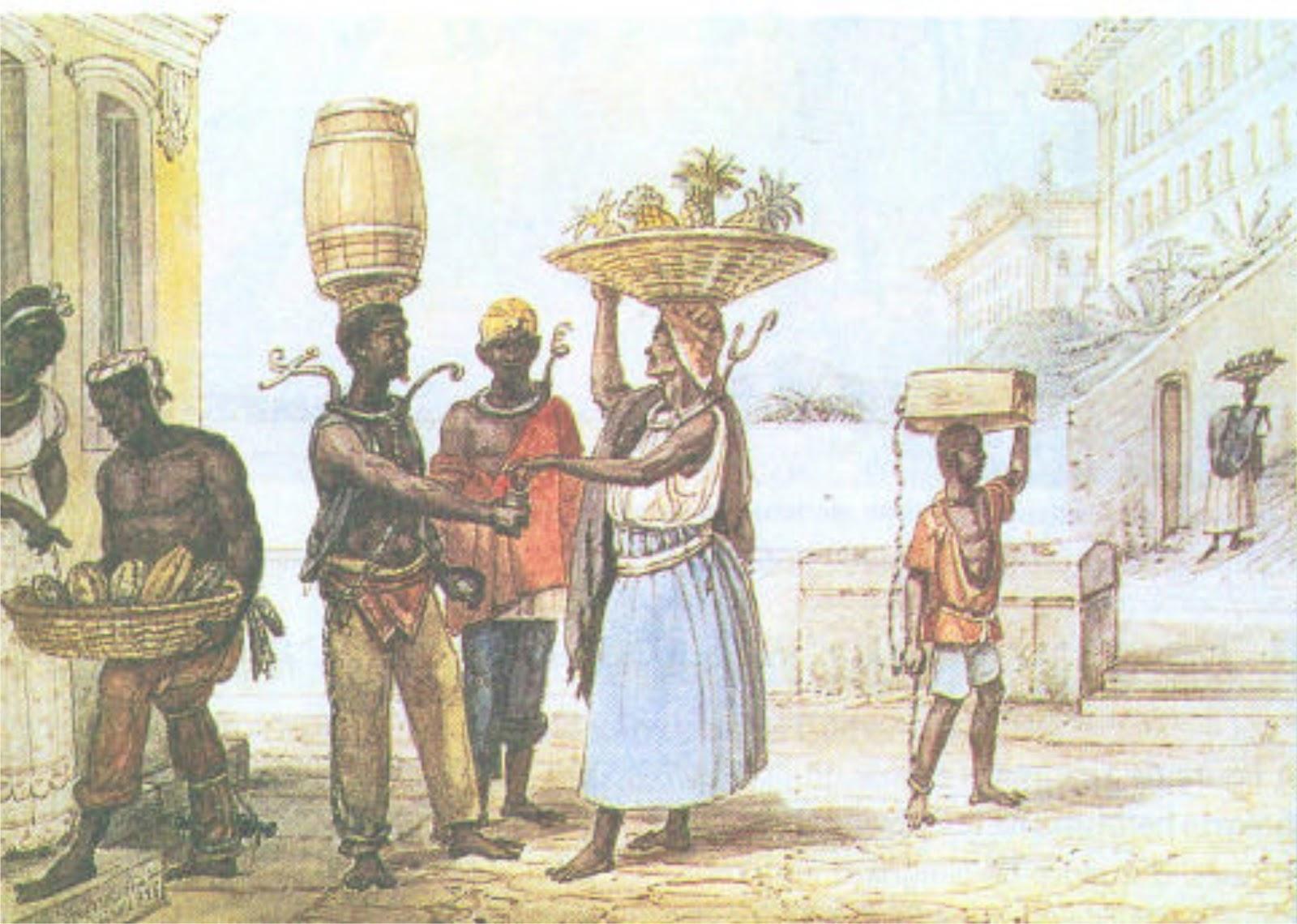 Eu Adoro História: Escravidão negra no Brasil