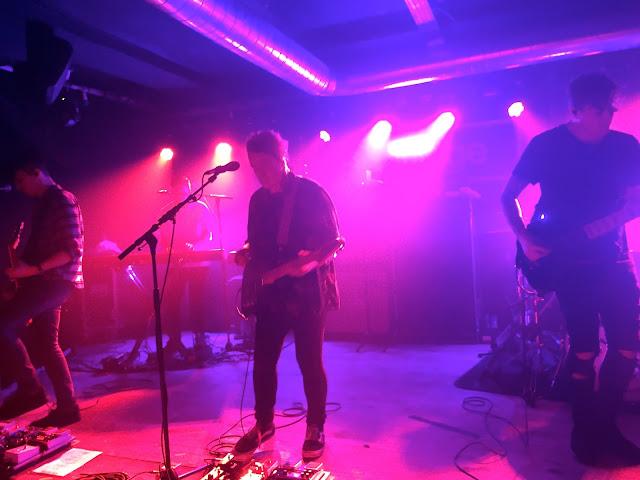 Deaf Havana live in concert in The Garage, Aberdeen