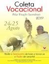 Coleta Vocacional pelas vocações Sacerdotais 2019