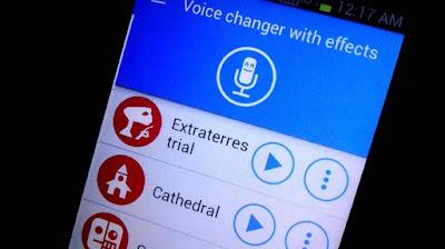 تطبيق Voice Changer With Effects للأندرويد , برنامج تغيير الصوت للاندرويد , برنامج تغيير الصوت لبنت