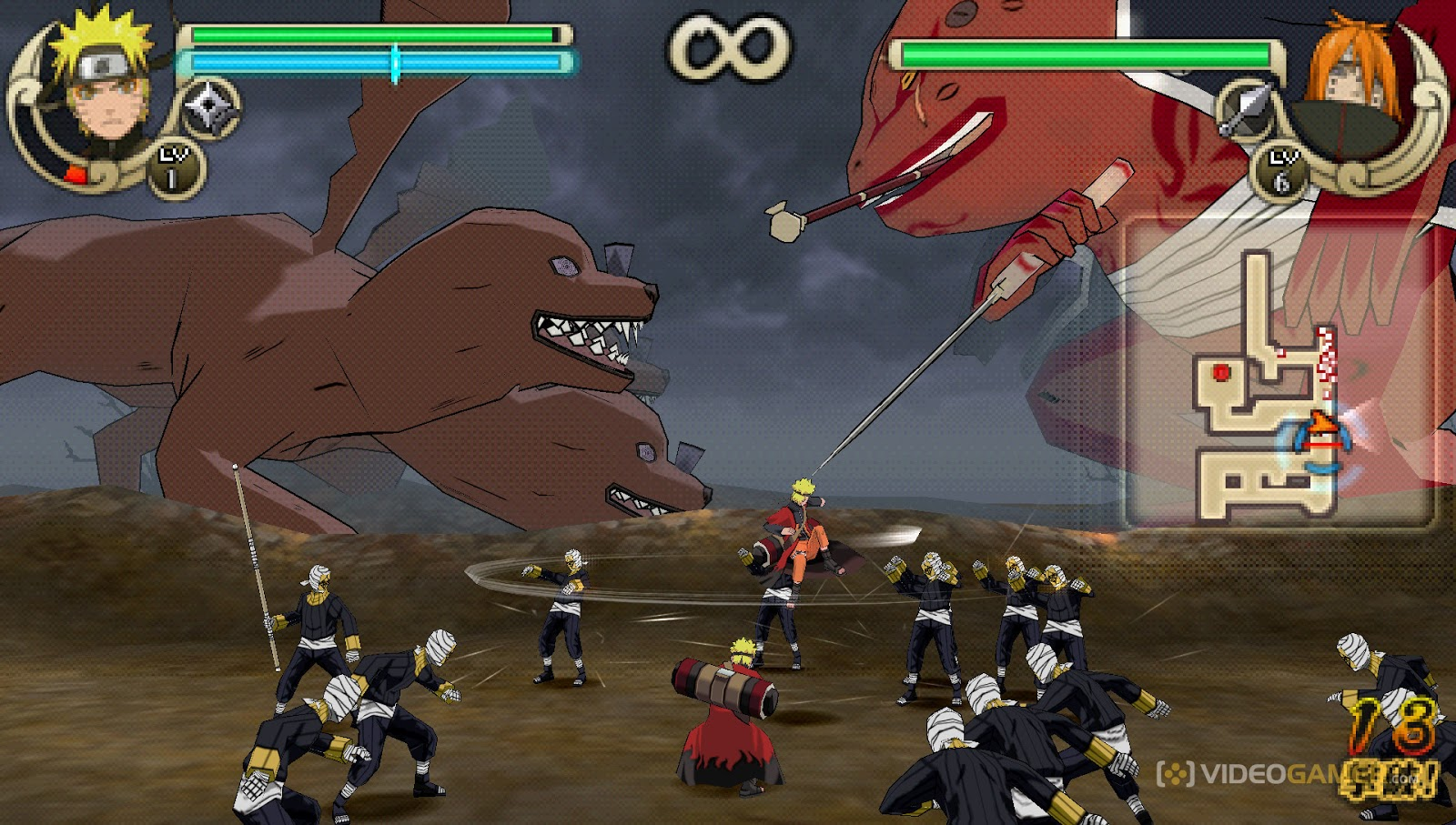 World Games - BR: Naruto Shippuden: Ultimate Ninja Impact (PSP)