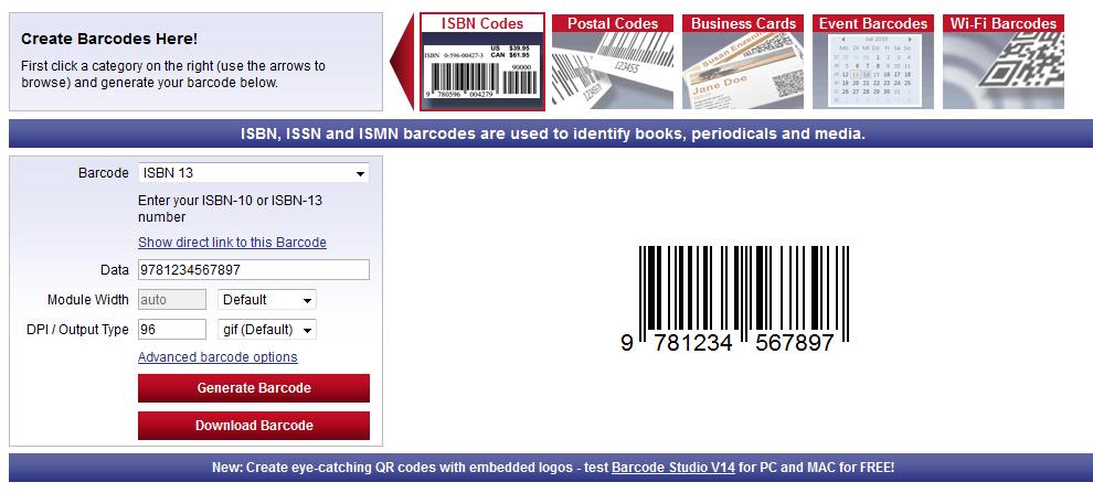 Cara Membuat Barcode / Kode Batang (QD Code Symbols, 2D