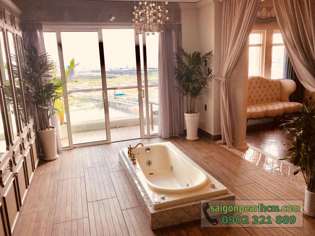 Penthouse cực đẹp và sang trọng tại Saigon Pearl Shaphire cho thuê - hình 3