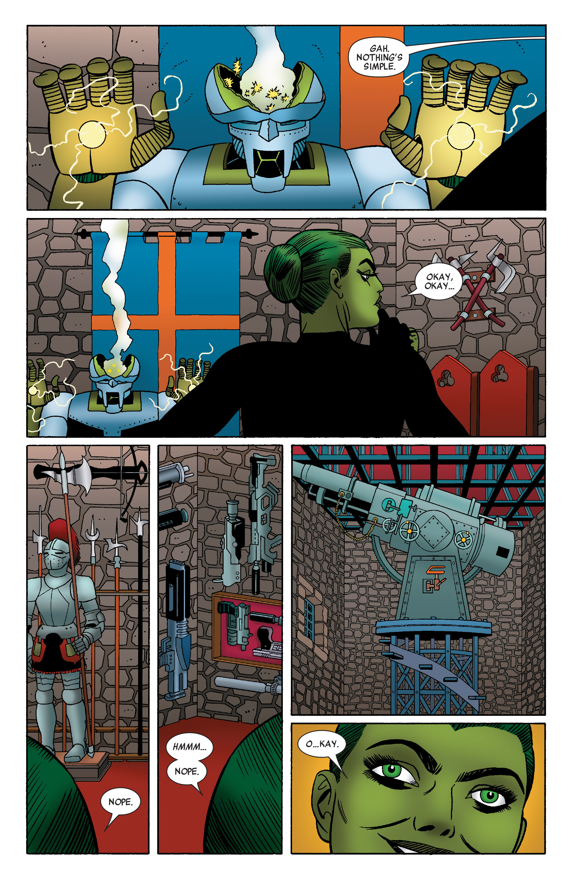 Read online She-Hulk (2014) comic -  Issue #4 - 11
