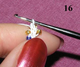 Вязаный жгут из бисера. Мастер-класс