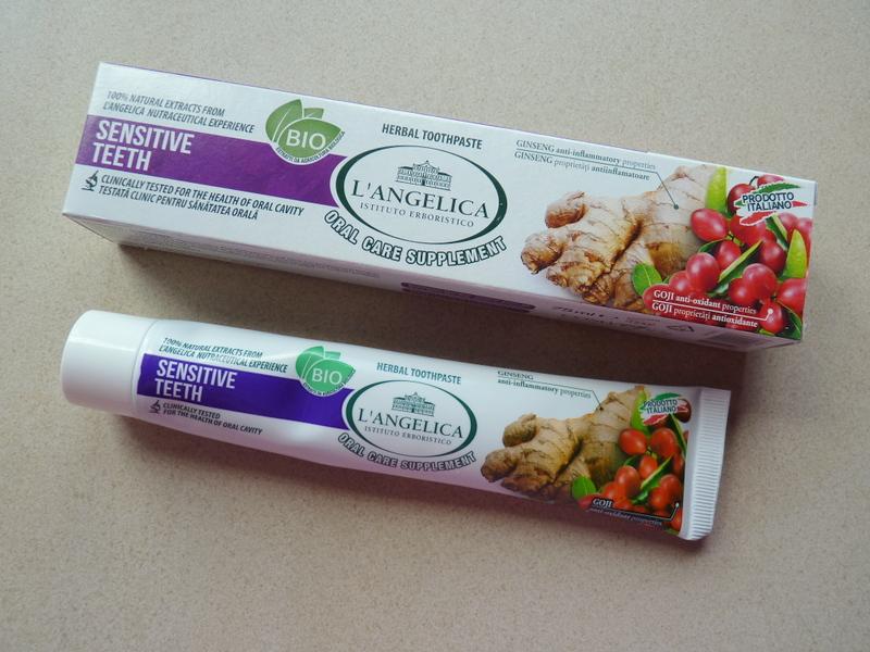 L'angelica - Sensitive Teeth Herbal Toothpaste – naturalna pasta do zębów znosząca nadwrażliwość
