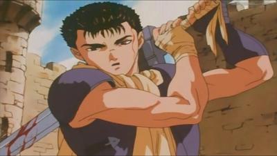 Berserk, Edad Dorada, anime, Guts adolescente