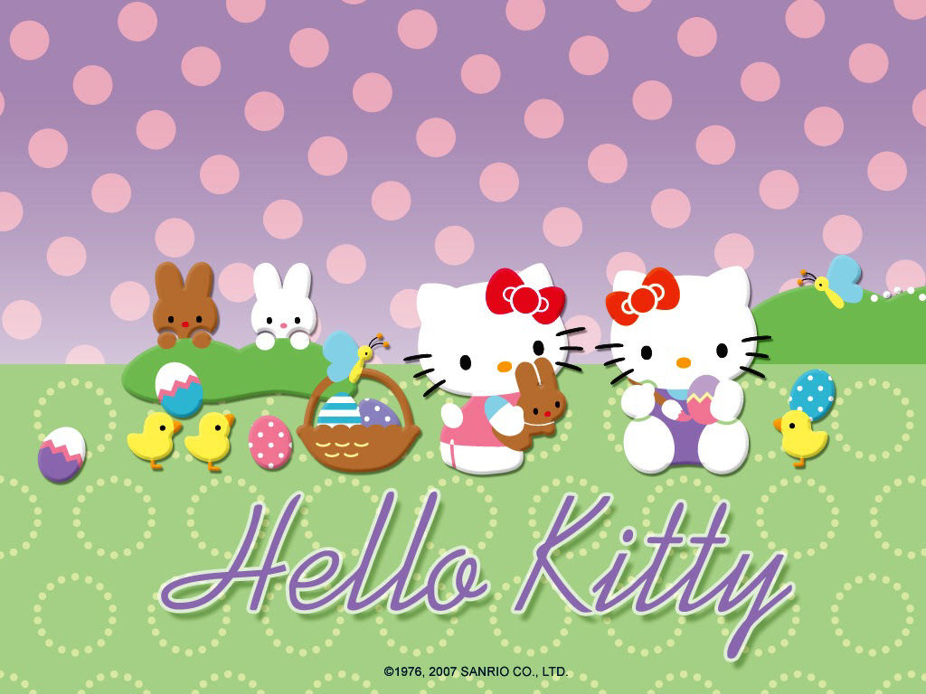hello kitty easter wallpapers - photo #1