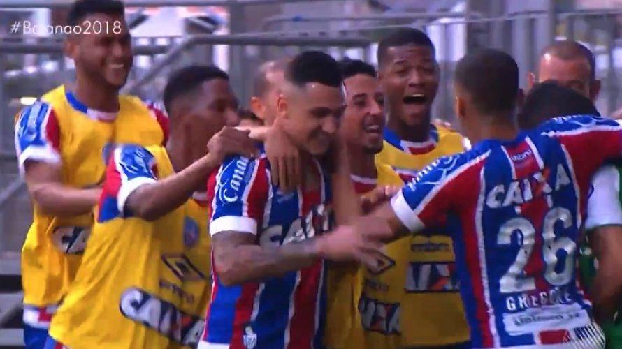 Bahia vence clássico Ba-Vi na Fonte Nova e chega à final com vantagem 6ca4b9dca9767