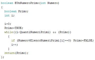 Fig. 4 - La funzione E Un Numero Primo ?  - sketch di Paolo Luongo