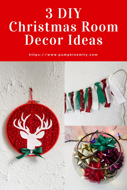 3 DIY Christmas Room Decor Ideas