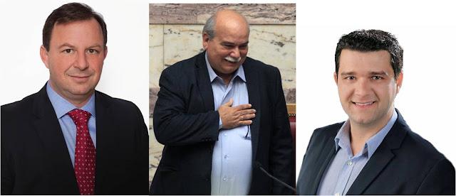 """""""Άδειασε"""" τον Μάριο Κάτση, ο πρόεδρος της Βουλής Νίκος Βούτσης και προτίμησε τον Βασίλη Γιόγιακα"""