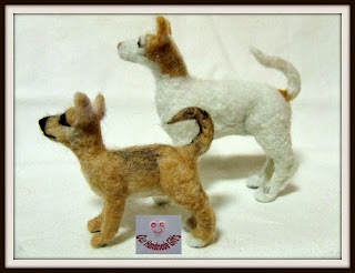 animales miniatura para casas de munecas
