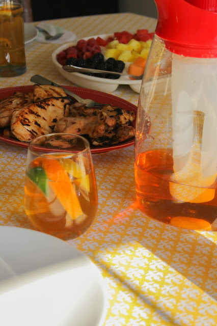 Citrus Sweet Tea | The Chef Next Door