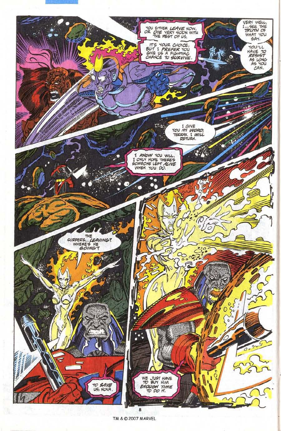Read online Silver Surfer (1987) comic -  Issue #75 - 10