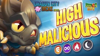 Dragão Maliciosa Nobre - Novo Heroico!