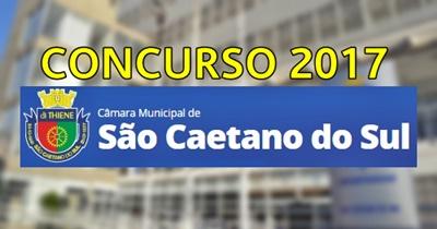 Concurso Câmara de São Caetano do Sul 2017