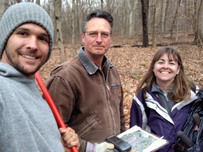 Michael Van Clef and Beth Craighead of FoHVOS Deer Management Program