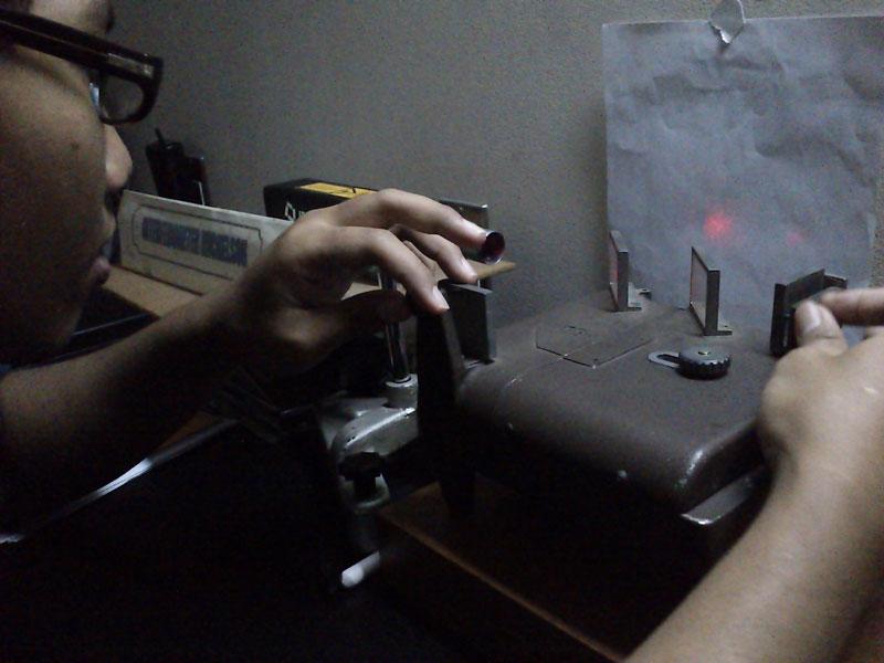 Percobaan Interferometer