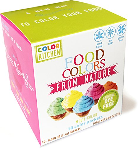 Food Coloring - ColorKitchen Color Packets (10 Pack) - Blue, Pink ...