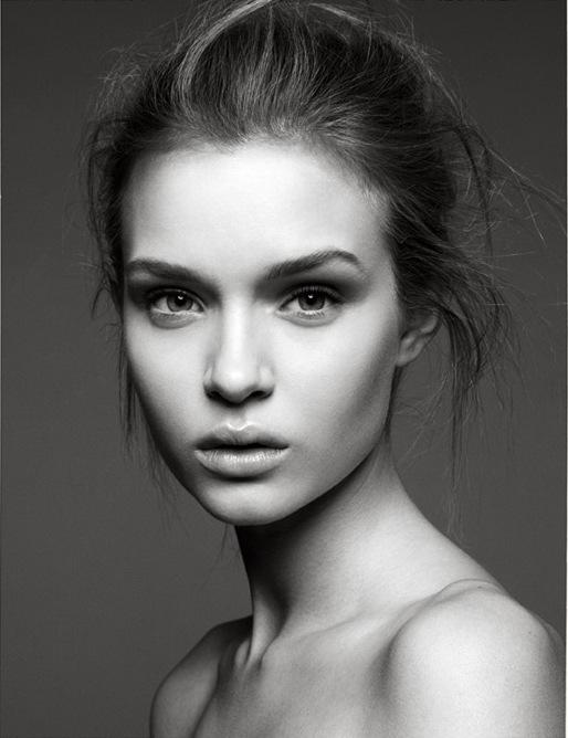 model face portrait - photo #8