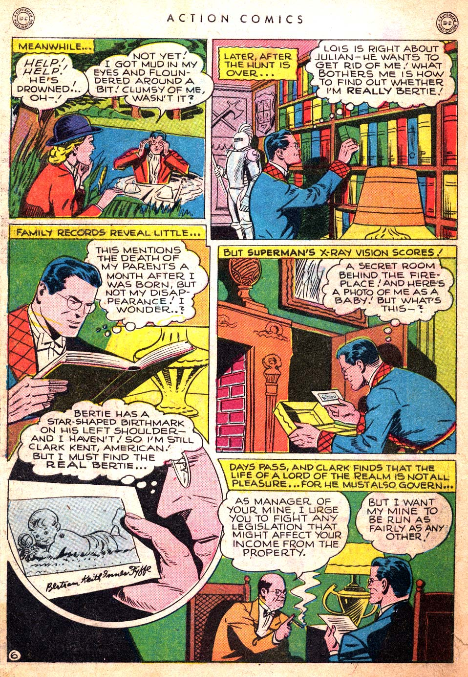 Read online Action Comics (1938) comic -  Issue #106 - 8