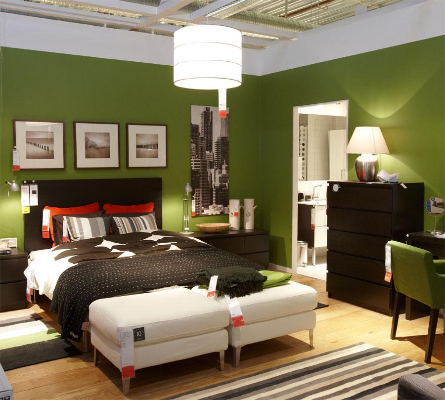 60 desain kamar tidur warna hijau minimalis modern